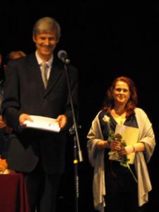 A díjátadón