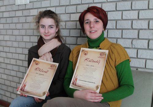 Tóth Johanna és Hajdú Ágota