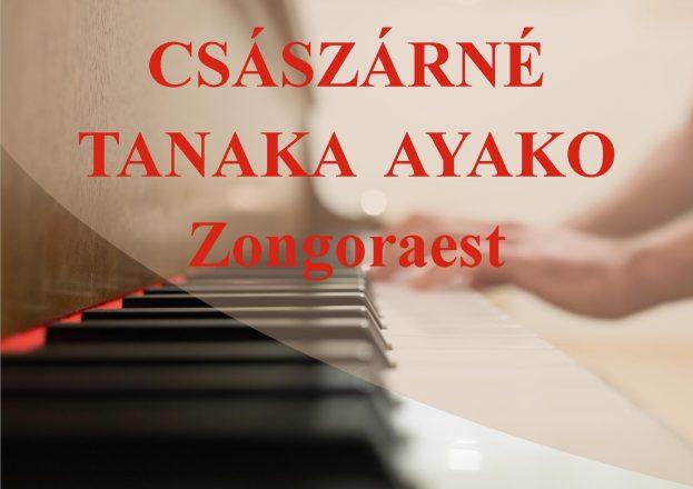Tanaka koncert 2019