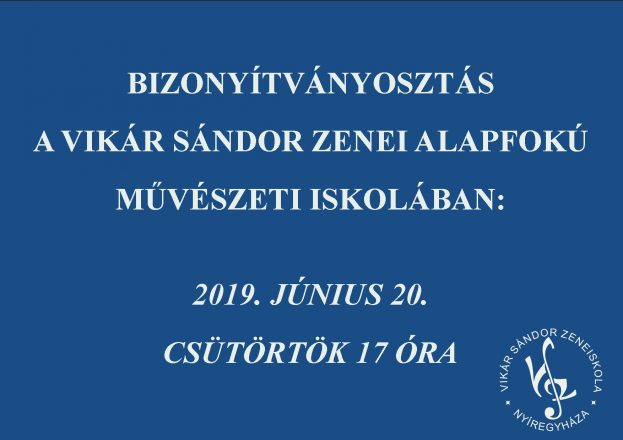 bizonyítványosztás 2019 2